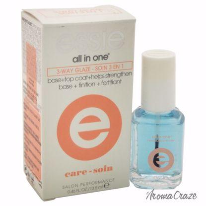 Essie All In One 3-Way Glaze Nail Polish for Women 0.46 oz