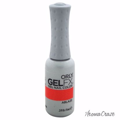 Orly Fx Gel Nail Color # 30498 Ablaze Nail Polish for Women