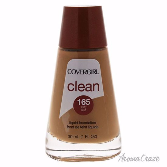 CoverGirl Clean Liquid # 165 Tawny Foundation for Women 1 oz - Face Makeup Products | Face Cosmetics | Face Makeup Kit | Face Foundation Makeup | Top Brand Face Makeup | Best Makeup Brands | Buy Makeup Products Online | AromaCraze.com