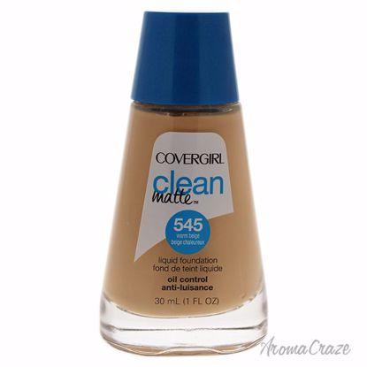 CoverGirl Clean Matte Liquid # 545 Warm Beige Foundation for