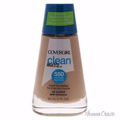 CoverGirl Clean Matte Liquid # 550 Creamy Beige Foundation f