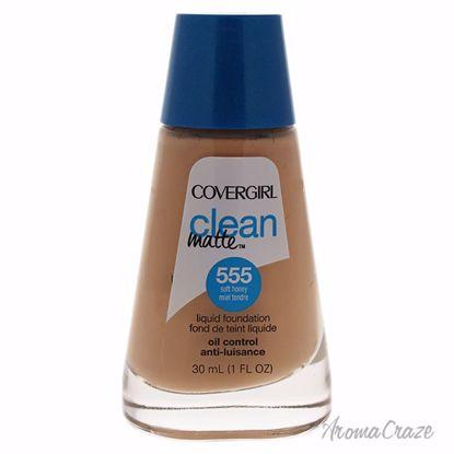 CoverGirl Clean Matte Liquid # 555 Soft Honey Foundation for