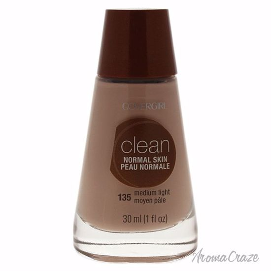CoverGirl Clean Normal Skin # 135 Medium Light Foundation for Women 1 oz - Face Makeup Products | Face Cosmetics | Face Makeup Kit | Face Foundation Makeup | Top Brand Face Makeup | Best Makeup Brands | Buy Makeup Products Online | AromaCraze.com