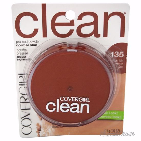 CoverGirl Clean Pressed Powder # 135 Medium Light Powder for Women 0.39 oz - Face Makeup Products | Face Cosmetics | Face Makeup Kit | Face Foundation Makeup | Top Brand Face Makeup | Best Makeup Brands | Buy Makeup Products Online | AromaCraze.com