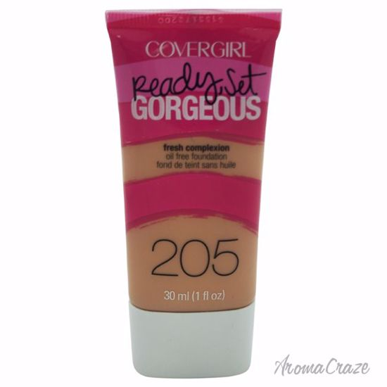 CoverGirl Ready Set Gorgeous # 205 Natural Beige Foundation for Women 1 oz - Face Makeup Products | Face Cosmetics | Face Makeup Kit | Face Foundation Makeup | Top Brand Face Makeup | Best Makeup Brands | Buy Makeup Products Online | AromaCraze.com