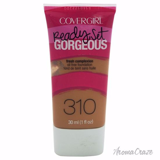 CoverGirl Ready Set Gorgeous # 310 Classic Tan Foundation for Women 1 oz - Face Makeup Products | Face Cosmetics | Face Makeup Kit | Face Foundation Makeup | Top Brand Face Makeup | Best Makeup Brands | Buy Makeup Products Online | AromaCraze.com