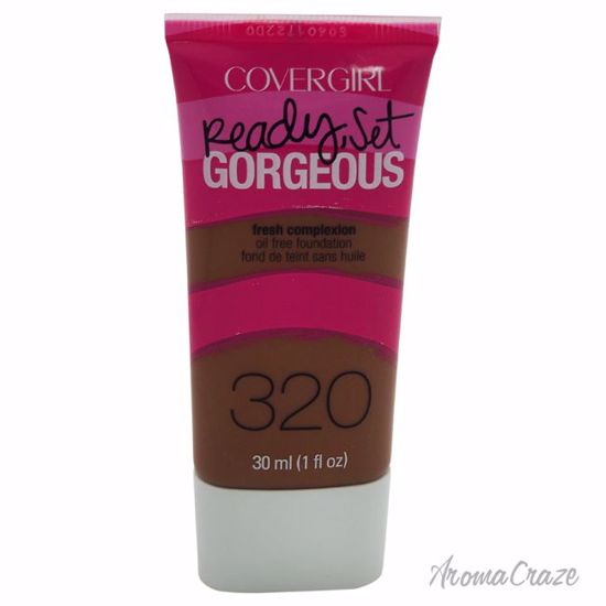 CoverGirl Ready Set Gorgeous # 320 Soft Sable Foundation for Women 1 oz - Face Makeup Products | Face Cosmetics | Face Makeup Kit | Face Foundation Makeup | Top Brand Face Makeup | Best Makeup Brands | Buy Makeup Products Online | AromaCraze.com