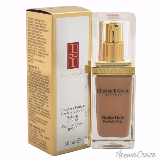 Elizabeth Arden Flawless Finish Perfectly Nude Makeup SPF 15 # 17 Bisque Foundation for Women 1 oz - Face Makeup Products | Face Cosmetics | Face Makeup Kit | Face Foundation Makeup | Top Brand Face Makeup | Best Makeup Brands | Buy Makeup Products Online | AromaCraze.com