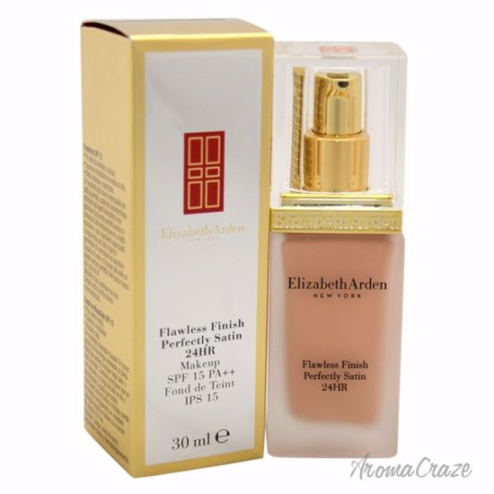 Elizabeth Arden Flawless Finish Perfectly Satin 24HR Makeup SPF 15 # 02 Cream Nude Foundation for Women 1 oz - Face Makeup Products | Face Cosmetics | Face Makeup Kit | Face Foundation Makeup | Top Brand Face Makeup | Best Makeup Brands | Buy Makeup Products Online | AromaCraze.com