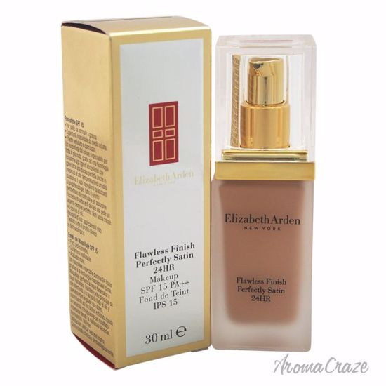 Elizabeth Arden Flawless Finish Perfectly Satin 24HR Makeup SPF 15 # 10 Cameo Foundation for Women 1 oz - Face Makeup Products | Face Cosmetics | Face Makeup Kit | Face Foundation Makeup | Top Brand Face Makeup | Best Makeup Brands | Buy Makeup Products Online | AromaCraze.com