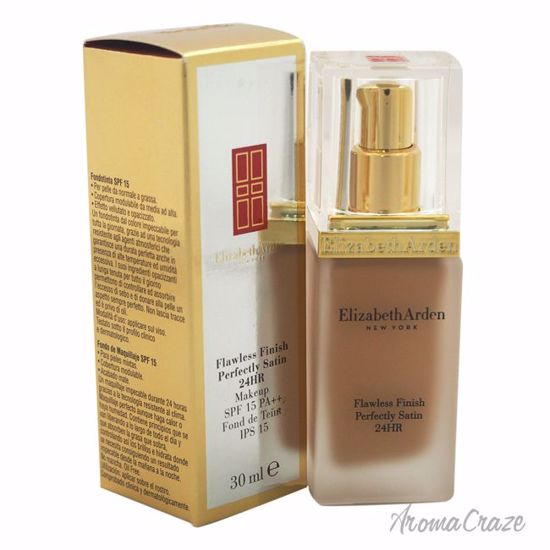 Elizabeth Arden Flawless Finish Perfectly Satin 24HR Makeup SPF 15 # 11 Bisque Foundation for Women 1 oz - Face Makeup Products | Face Cosmetics | Face Makeup Kit | Face Foundation Makeup | Top Brand Face Makeup | Best Makeup Brands | Buy Makeup Products Online | AromaCraze.com