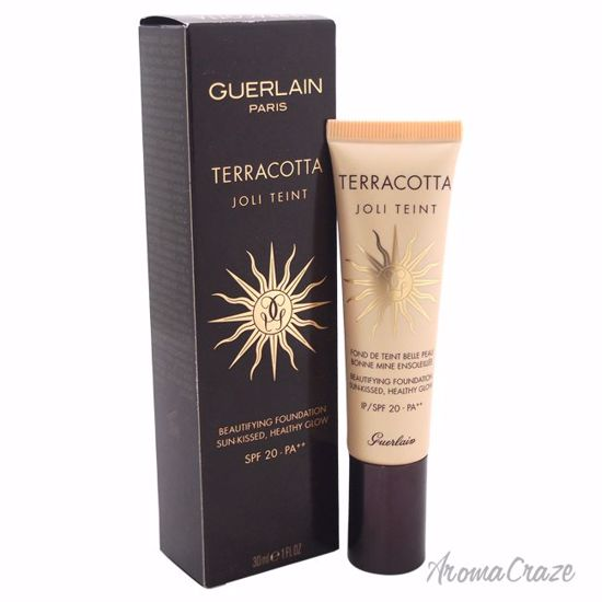 Guerlain Terracotta Joli Teint Beautifying Foundation SPF 20 Ebony for Women 1 oz - Face Makeup Products | Face Cosmetics | Face Makeup Kit | Face Foundation Makeup | Top Brand Face Makeup | Best Makeup Brands | Buy Makeup Products Online | AromaCraze.com