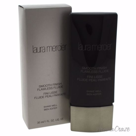 Laura Mercier Smooth Finish Flawless Fluide Honey Foundation for Women 1 oz - Face Makeup Products | Face Cosmetics | Face Makeup Kit | Face Foundation Makeup | Top Brand Face Makeup | Best Makeup Brands | Buy Makeup Products Online | AromaCraze.com