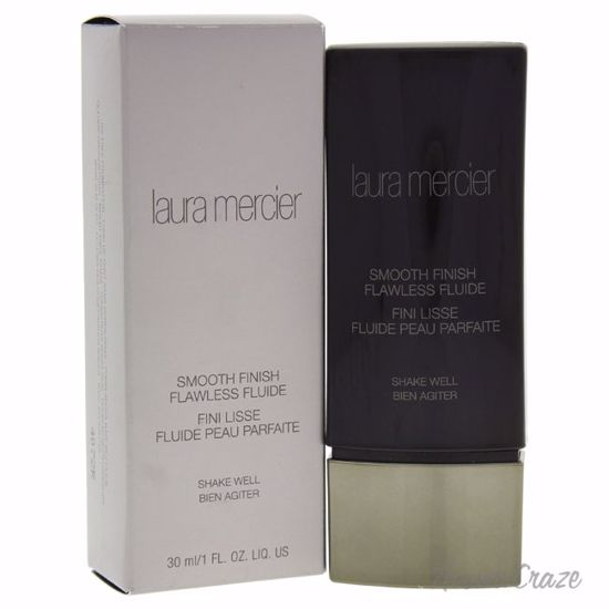 Laura Mercier Smooth Finish Flawless Fluide Ivory Foundation for Women 1 oz - Face Makeup Products | Face Cosmetics | Face Makeup Kit | Face Foundation Makeup | Top Brand Face Makeup | Best Makeup Brands | Buy Makeup Products Online | AromaCraze.com