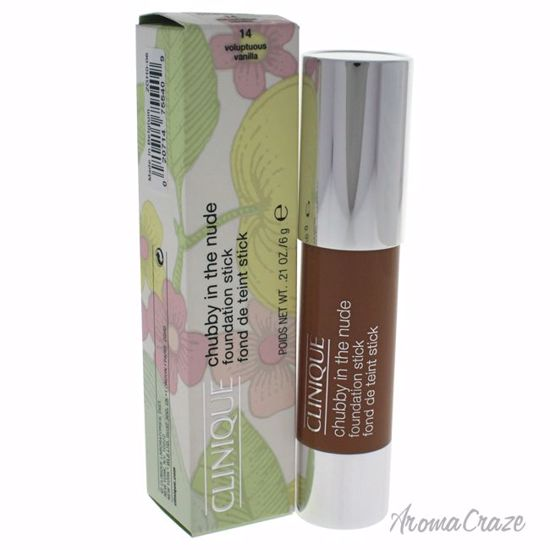 Clinique Chubby in the Nude Foundation Stick # 14 Voluptuous Vanilla for Women 0.21 oz - Face Makeup Products | Face Cosmetics | Face Makeup Kit | Face Foundation Makeup | Top Brand Face Makeup | Best Makeup Brands | Buy Makeup Products Online | AromaCraze.com