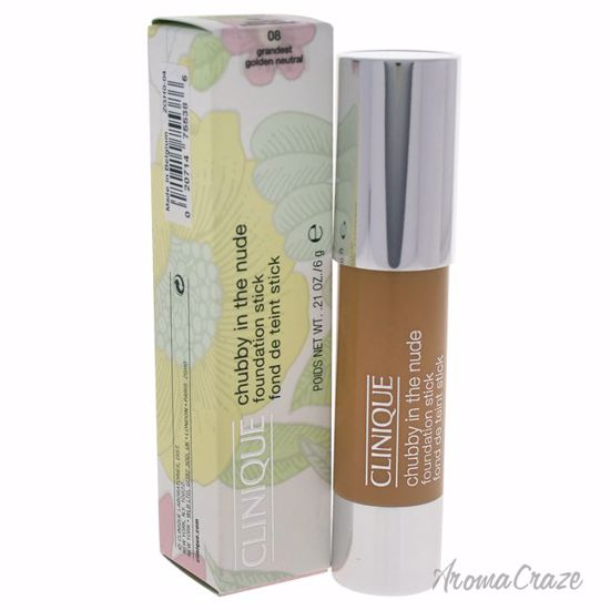 Clinique Chubby in the Nude Foundation Stick # 08 Grandest Golden Neutral for Women 0.21 oz - Face Makeup Products | Face Cosmetics | Face Makeup Kit | Face Foundation Makeup | Top Brand Face Makeup | Best Makeup Brands | Buy Makeup Products Online | AromaCraze.com