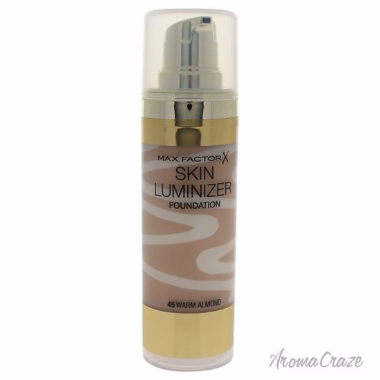 Max Factor Skin Luminizer # 45 Warm Almond Foundation for Women 30 ml - Face Makeup Products | Face Cosmetics | Face Makeup Kit | Face Foundation Makeup | Top Brand Face Makeup | Best Makeup Brands | Buy Makeup Products Online | AromaCraze.com