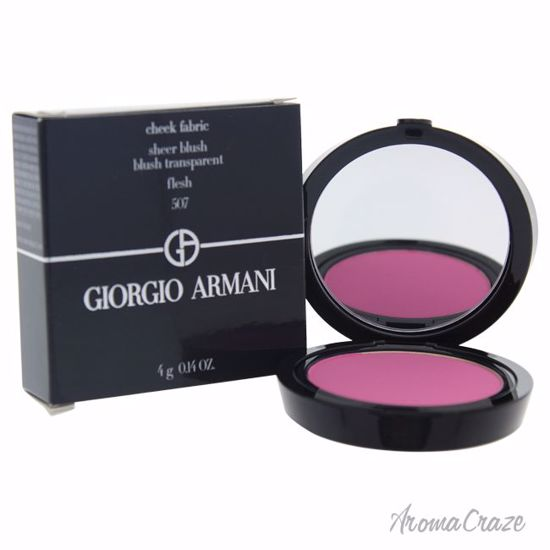 Giorgio Armani Cheek Fabric Sheer Blush # 507 Flesh for Women 0.14 oz - Face Makeup Products | Face Cosmetics | Face Makeup Kit | Face Foundation Makeup | Top Brand Face Makeup | Best Makeup Brands | Buy Makeup Products Online | AromaCraze.com