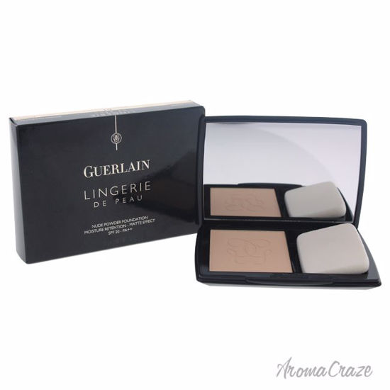 Guerlain Lingerie De Peau Nude Powder SPF 20 # 01 Pale Beige Powder Foundation (Refillable) for Women 0.35 oz - Face Makeup Products | Face Cosmetics | Face Makeup Kit | Face Foundation Makeup | Top Brand Face Makeup | Best Makeup Brands | Buy Makeup Products Online | AromaCraze.com