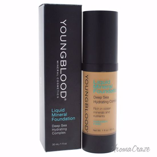 Youngblood Liquid Mineral Tahitian Sun Foundation for Women 1 oz - Face Makeup Products | Face Cosmetics | Face Makeup Kit | Face Foundation Makeup | Top Brand Face Makeup | Best Makeup Brands | Buy Makeup Products Online | AromaCraze.com