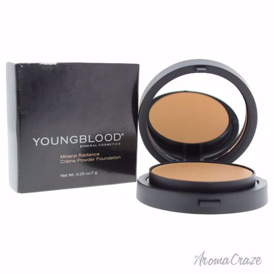 Youngblood Mineral Radiance Creme Powder Warm Beige Foundation for Women 0.25 oz - Face Makeup Products | Face Cosmetics | Face Makeup Kit | Face Foundation Makeup | Top Brand Face Makeup | Best Makeup Brands | Buy Makeup Products Online | AromaCraze.com
