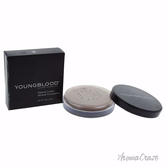 Youngblood Natural Loose Mineral Mahogany Foundation for Women 0.35 oz - Face Makeup Products | Face Cosmetics | Face Makeup Kit | Face Foundation Makeup | Top Brand Face Makeup | Best Makeup Brands | Buy Makeup Products Online | AromaCraze.com