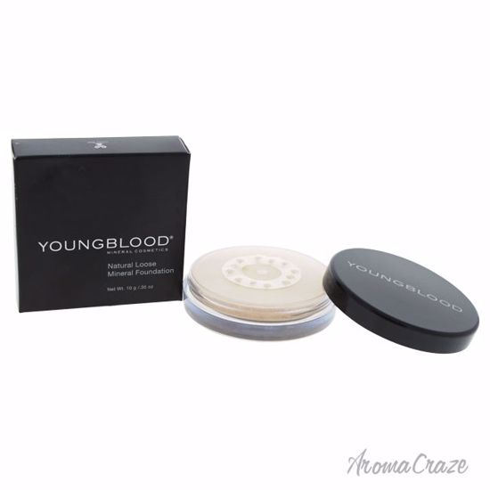 Youngblood Natural Loose Mineral Pearl Foundation for Women 0.35 oz - Face Makeup Products | Face Cosmetics | Face Makeup Kit | Face Foundation Makeup | Top Brand Face Makeup | Best Makeup Brands | Buy Makeup Products Online | AromaCraze.com