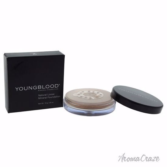 Youngblood Natural Loose Mineral Rose Beige Foundation for Women 0.35 oz - Face Makeup Products | Face Cosmetics | Face Makeup Kit | Face Foundation Makeup | Top Brand Face Makeup | Best Makeup Brands | Buy Makeup Products Online | AromaCraze.com