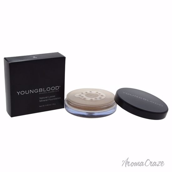 Youngblood Natural Loose Mineral Tawnee Foundation for Women 0.35 oz - Face Makeup Products | Face Cosmetics | Face Makeup Kit | Face Foundation Makeup | Top Brand Face Makeup | Best Makeup Brands | Buy Makeup Products Online | AromaCraze.com