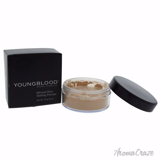 Youngblood Mineral Rice Setting Powder Medium Powder for Women 0.35 oz - Face Makeup Products | Face Cosmetics | Face Makeup Kit | Face Foundation Makeup | Top Brand Face Makeup | Best Makeup Brands | Buy Makeup Products Online | AromaCraze.com
