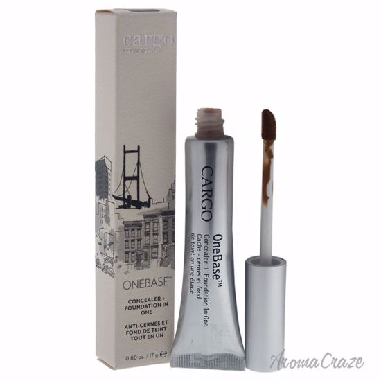 Cargo Onebase Concealer + Foundation # 04 Medium/Dark with Yellow Undertone for Women 0.60 oz - Face Makeup Products | Face Cosmetics | Face Makeup Kit | Face Foundation Makeup | Top Brand Face Makeup | Best Makeup Brands | Buy Makeup Products Online | AromaCraze.com