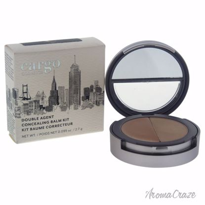 Cargo Double Agent Concealing Balm Kit # 3W Medium with Warm
