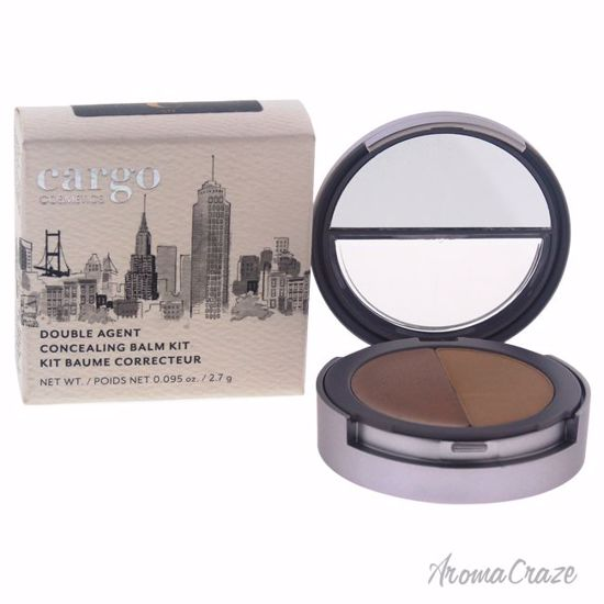Cargo Double Agent Concealing Balm Kit # 5N Dark Concealer for Women 0.095 oz - Face Makeup Products | Face Cosmetics | Face Makeup Kit | Face Foundation Makeup | Top Brand Face Makeup | Best Makeup Brands | Buy Makeup Products Online | AromaCraze.com