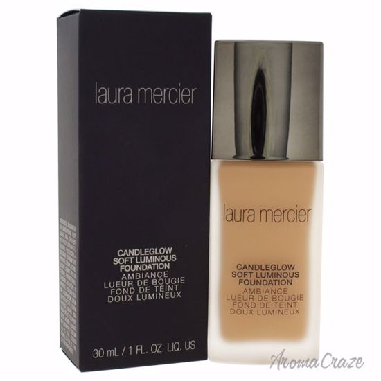 Laura Mercier Candleglow Soft Luminous Suntan Foundation for Women 1 oz - Face Makeup Products | Face Cosmetics | Face Makeup Kit | Face Foundation Makeup | Top Brand Face Makeup | Best Makeup Brands | Buy Makeup Products Online | AromaCraze.com