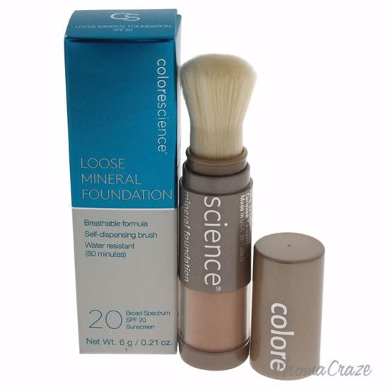Colorescience Loose Mineral Foundation Brush SPF 20 Medium Sand for Women 0.21 oz - Face Makeup Products | Face Cosmetics | Face Makeup Kit | Face Foundation Makeup | Top Brand Face Makeup | Best Makeup Brands | Buy Makeup Products Online | AromaCraze.com