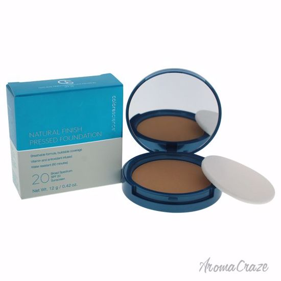 Colorescience Natural Finish Pressed SPF 20 Medium Bisque Foundation for Women 0.42 oz - Face Makeup Products | Face Cosmetics | Face Makeup Kit | Face Foundation Makeup | Top Brand Face Makeup | Best Makeup Brands | Buy Makeup Products Online | AromaCraze.com