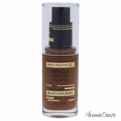 Max Factor Miracle Match # 100 Sun Tan Foundation for Women