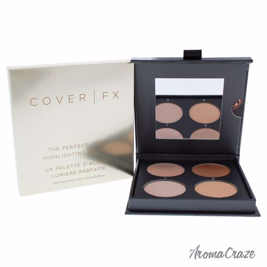 Cover FX Perfect Light Highlighting Palette Light Medium Highlighter for Women 0.38 oz - Face Makeup Products | Face Cosmetics | Face Makeup Kit | Face Foundation Makeup | Top Brand Face Makeup | Best Makeup Brands | Buy Makeup Products Online | AromaCraze.com