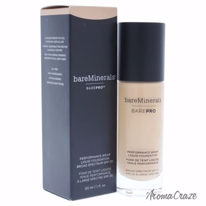 bareMinerals Barepro Performance Wear Liquid SPF 20 # 11 Natural Foundation for Women 1 oz - Face Makeup Products | Face Cosmetics | Face Makeup Kit | Face Foundation Makeup | Top Brand Face Makeup | Best Makeup Brands | Buy Makeup Products Online | AromaCraze.com