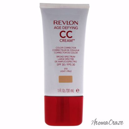 Revlon Age Defying CC Cream Color Corrector SPF 30 # 010 Light Corrector for Women 1 oz - Face Makeup Products | Face Cosmetics | Face Makeup Kit | Face Foundation Makeup | Top Brand Face Makeup | Best Makeup Brands | Buy Makeup Products Online | AromaCraze.com