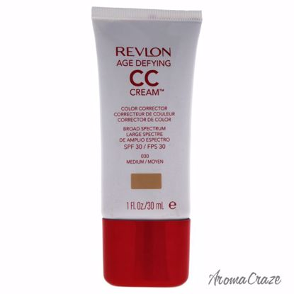 Revlon Age Defying CC Cream Color Corrector SPF 30 # 030 Medium Corrector for Women 1 oz - Face Makeup Products | Face Cosmetics | Face Makeup Kit | Face Foundation Makeup | Top Brand Face Makeup | Best Makeup Brands | Buy Makeup Products Online | AromaCraze.com