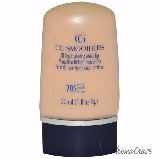 CoverGirl CG Smoothers All Day Hydrating Make-Up # 705 Ivory Makeup for Women 1 oz - Face Makeup Products | Face Cosmetics | Face Makeup Kit | Face Foundation Makeup | Top Brand Face Makeup | Best Makeup Brands | Buy Makeup Products Online | AromaCraze.com