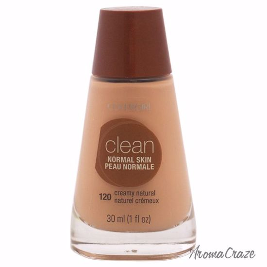 CoverGirl Clean Normal Skin # 120 Creamy Natural Foundation for Women 1 oz - Face Makeup Products | Face Cosmetics | Face Makeup Kit | Face Foundation Makeup | Top Brand Face Makeup | Best Makeup Brands | Buy Makeup Products Online | AromaCraze.com