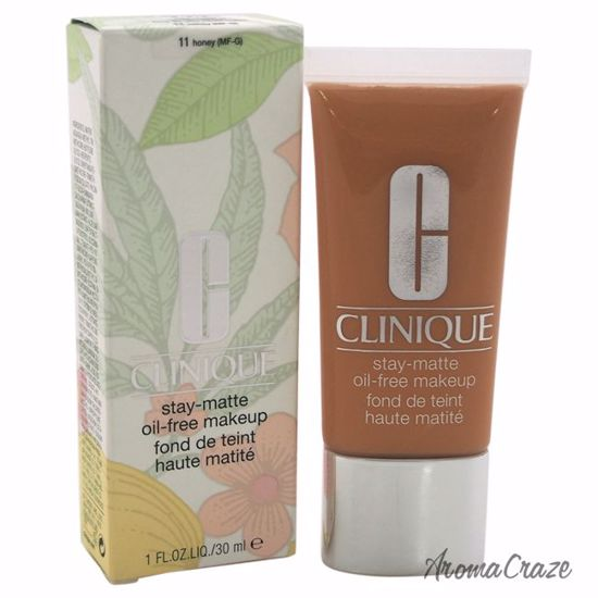 Clinique Stay-Matte Oil-Free Makeup # 11 Honey (MF-G) Dry Combination To Oily Makeup for Women 1 oz - Face Makeup Products | Face Cosmetics | Face Makeup Kit | Face Foundation Makeup | Top Brand Face Makeup | Best Makeup Brands | Buy Makeup Products Online | AromaCraze.com
