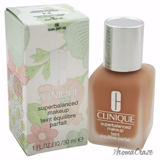 Clinique Superbalanced Makeup # 06 Linen (MF-N) Dry Combination To Combination Oily Foundation for Women 1 oz - Face Makeup Products | Face Cosmetics | Face Makeup Kit | Face Foundation Makeup | Top Brand Face Makeup | Best Makeup Brands | Buy Makeup Products Online | AromaCraze.com