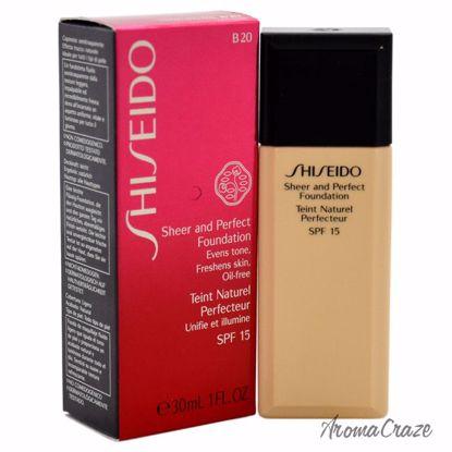 Shiseido Sheer and Perfect Foundation SPF 15 # B20 Natural L