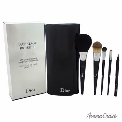 Christian Dior BackStage Brushes Professional Finish Brushes Set Light Coverage Powder Brush # 14, Light Coverage Fluid Foundation Brush # 11, Medium Eyeshadow Brush # 21, Eyeliner Brush # 24, Lip Brush # 31, Brush Case for Women 6 Pc Set - Eye Makeup | Eye Makeup Kit | Eye Shadow | Eye liner | Eye Mascara | Eye Cosmetics Products | Eye Makeup For Big Eyes | Buy Eye Makeup Online | AromaCraze.com