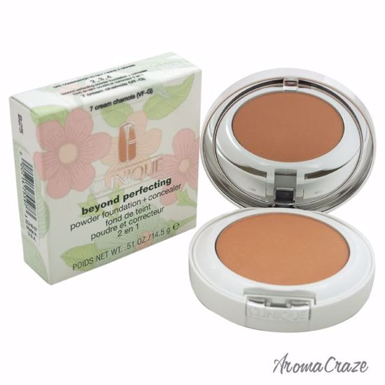 Clinique Beyond Perfecting Powder Foundation #7 Cream Chamois (VF-G)-Dry Comb. To Oily Powder for Women 0.51 oz - Face Makeup Products | Face Cosmetics | Face Makeup Kit | Face Foundation Makeup | Top Brand Face Makeup | Best Makeup Brands | Buy Makeup Products Online | AromaCraze.com
