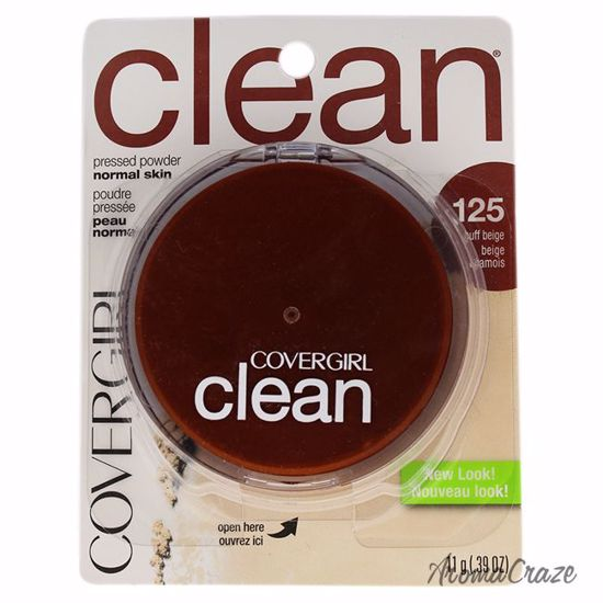 CoverGirl Clean Pressed Powder # 125 Buff Beige Powder for Women 0.39 oz - Face Makeup Products | Face Cosmetics | Face Makeup Kit | Face Foundation Makeup | Top Brand Face Makeup | Best Makeup Brands | Buy Makeup Products Online | AromaCraze.com
