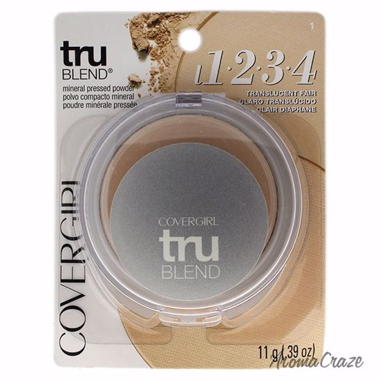 CoverGirl TruBlend Pressed Powder # 1 Translucent Fair Powder for Women 0.39 oz - Face Makeup Products | Face Cosmetics | Face Makeup Kit | Face Foundation Makeup | Top Brand Face Makeup | Best Makeup Brands | Buy Makeup Products Online | AromaCraze.com